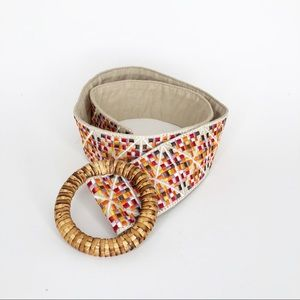 4/$20 embroidered belt